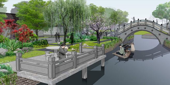 上海广富林遗址景区设计